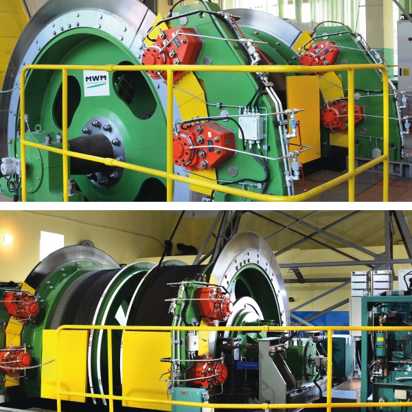 Comprehensive modernization of shaft hoists in the